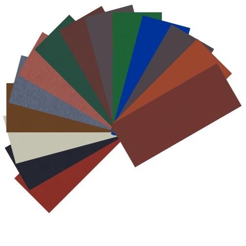 Farbmuster als Einzelkarte