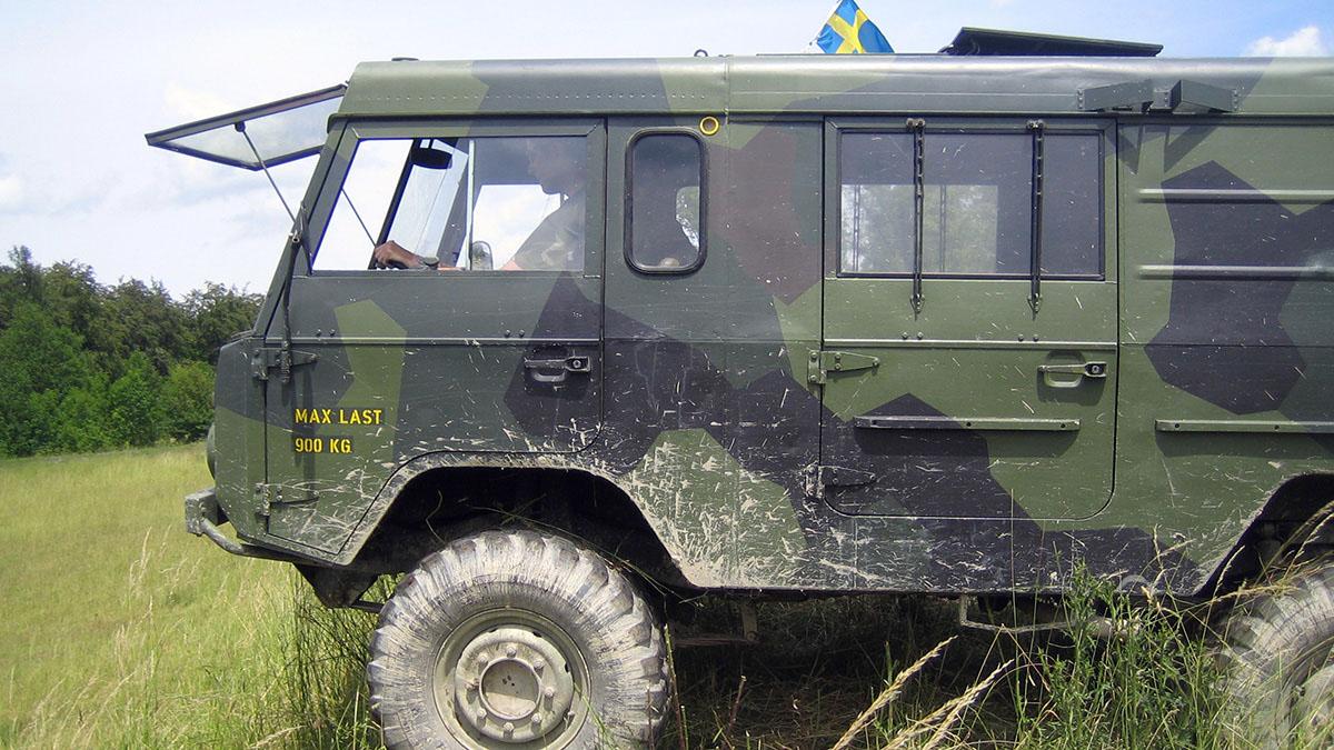 Schwedische Armee - Försvarsmakten